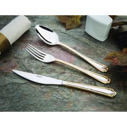 Emsan Elegance Göksu Gold 84 Parça Lüks Kutulu Çatal Kaşık Bıçak Seti
