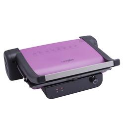 Cookplus Prestige Granit Izgara ve Tost Makinesi Violet 2000W