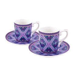 Emsan Violet Dream 6 Kişilik Kahve Fincan Takımı