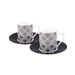 Emsan Myras 6 Kişilik Kahve Fincan Takımı Gold