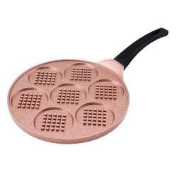 Emsan Smile 26 cm Waffle Tava Kahve