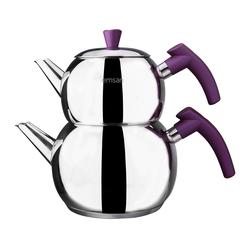 Emsan Burcu Küre Çaydanlık Mor