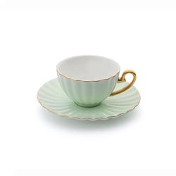 Emsan Marsilya 6 Kişilik Kahve Fincan Takımı Yeşil