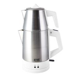 Emsan Bella Gusto Elektrikli Çaycı İnci Beyaz