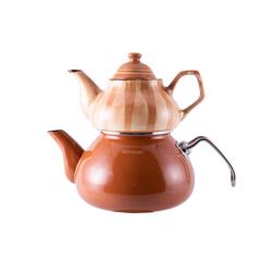 Emsan İzmir Porselenli Çaydanlık Kahve