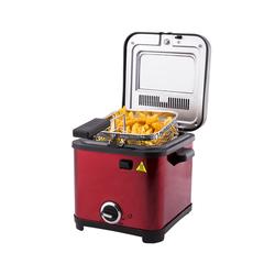 Cookplus Mini Fritöz 800-900 W Kırmızı 801