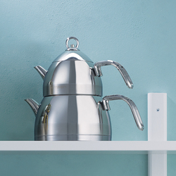 Emsan Aragon Mini Paslanmaz Çelik Çaydanlık