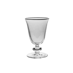 Holly 6'lı Su Bardağı Platin