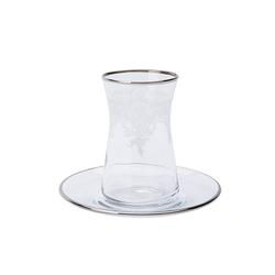Lace Platin 6 Kişilik Çay Seti