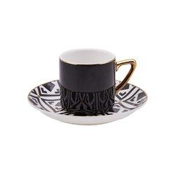 Monochrome 4 Kişilik Kahve Fincan Takımı