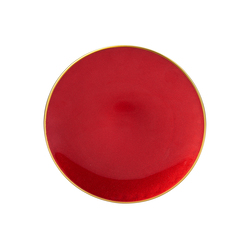 Emsan Hayal Servis Tabak 21 cm Kırmızı