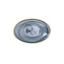 Emsan Hayal Oval Tabak 18 cm Siyah