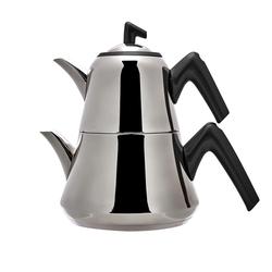 Emsan Harika Çaydanlık Takımı Soft Siyah