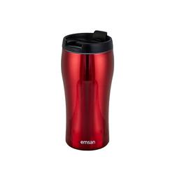 Emsan Mugy Classic Kırmızı 350 ml Termos