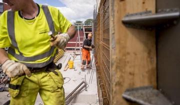 Jest więcej pracy w Norwegii dla imigrantów.