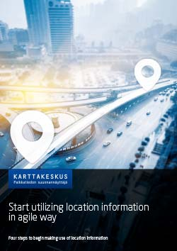 Start utilizing location information in agile way