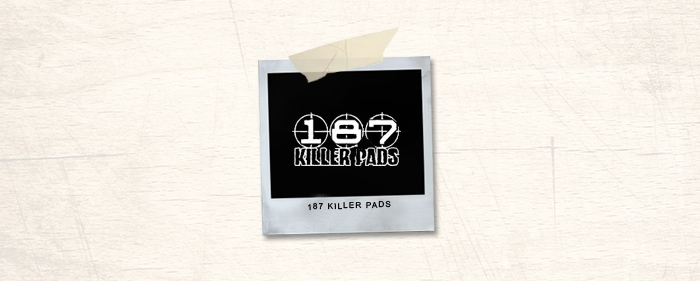 187 Killer Pads Brand Header