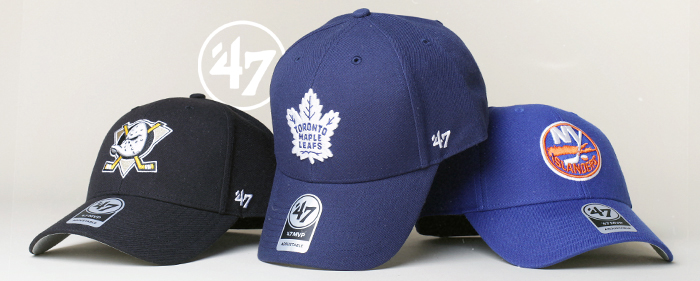 47 brand NHL EPL NFL MLB caps apparel mighty ducks