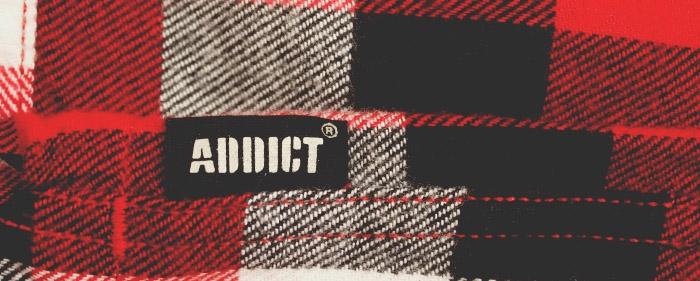 Addict Brand Header