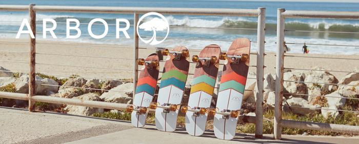 Arbor Skateboards longboards foundation groundswel