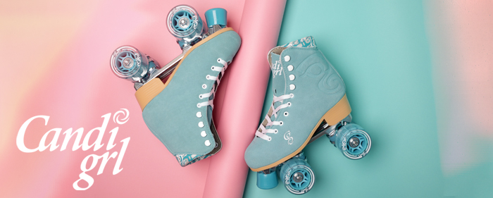 Candi Grl quad roller skates artistic carlin