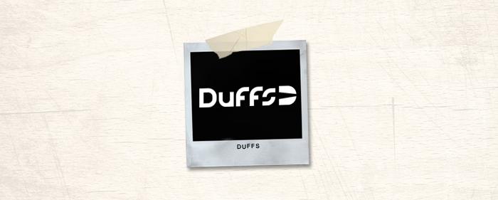 Duffs Brand Header