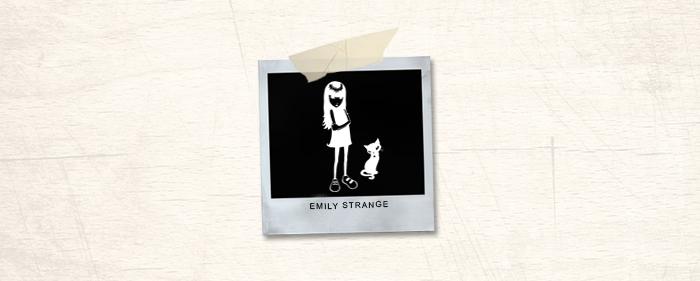 Emily Strange Brand Header
