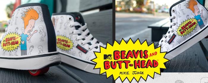 Heelys Beavis and Butthead MTV heelies shoe