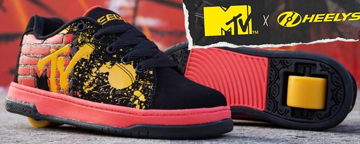 Heelys MTV Music Television Split Heelies heely