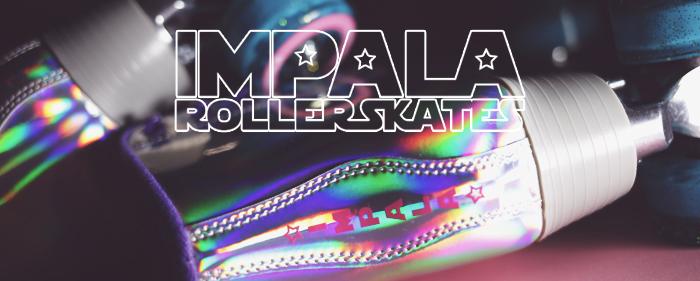 Impala roller quad skates rollerskate holographic