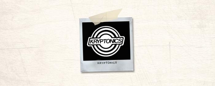 Kryptonics Brand Header