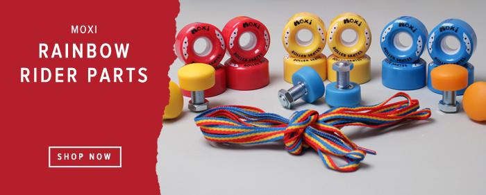 Moxi Rainbow Rider skate replacement parts wheels