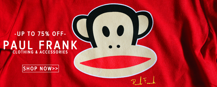 Paul Frank Julius and friends hoods tees sale