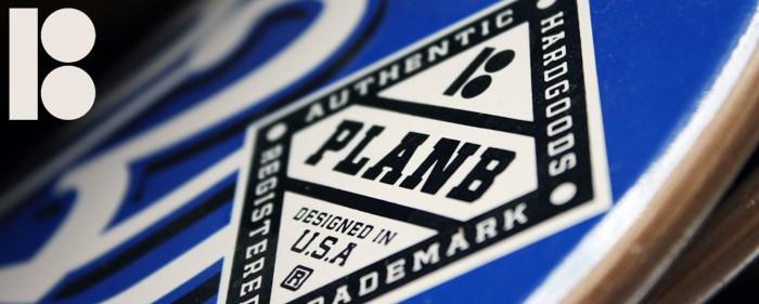 Plan B brand header