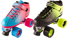 Riedell Roller Derby Quad Skates Ombre Dart