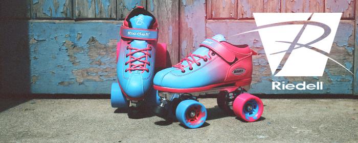 Riedell quad derby skates