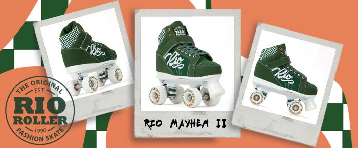Rio Roller Mayhem II derby style quad skate