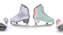 Rio Roller Ice skates dancing on