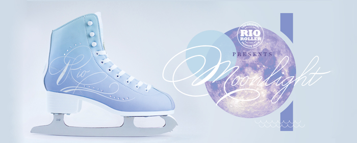 Rio Roller Moonlight Ice skates dancing on