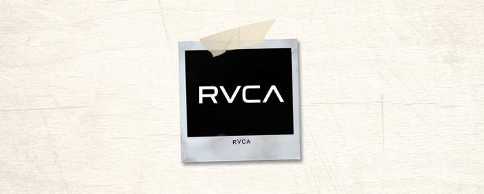RVCA Brand Header