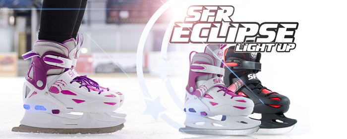 SFR Eclipse ice hockey figure skates