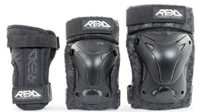 Skate protection elbow knee pads wrist helmet