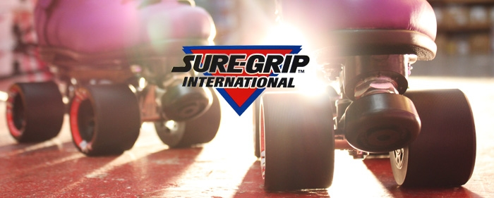 Sure Grip Brand Header