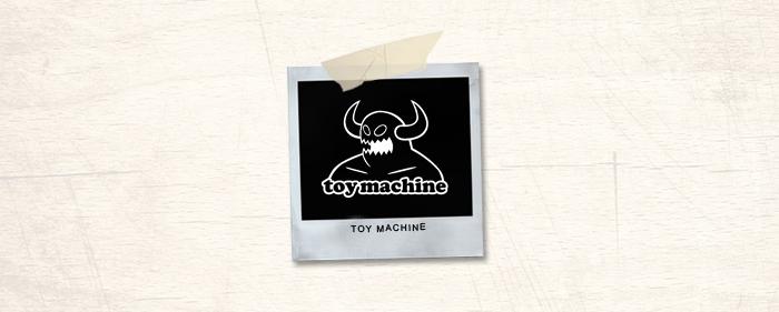 Toy Machine Brand Header