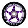 Ninja Star Alloy Core Scooter Wheel and Bearings - Purple