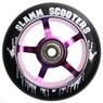 110mm Essential Spoke Metal Core Scooter Wheel and Bearings - Purple