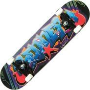 A Series Graffiti Complete Skateboard