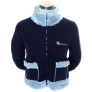 Zip Up Furry Fleece