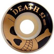 Gold Skulls Skateboard Wheels - 52mm
