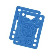 Piles Hard Risers 1/8 inch Blue